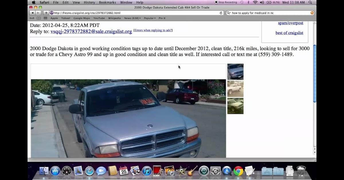 Craigslist Cars For Sale In Fresno California - Car Sale ...