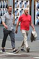 victor garber ubby rainer go for a stroll in nyc 03