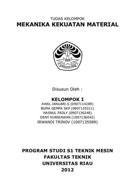 30+ Contoh Cover Makalah Kuliah, SMA, Kelompok (BAIK & BENAR)