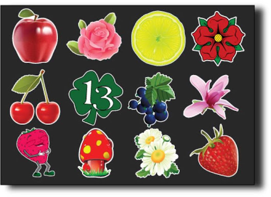 Flowers/Fruits Stickers at Print Plus