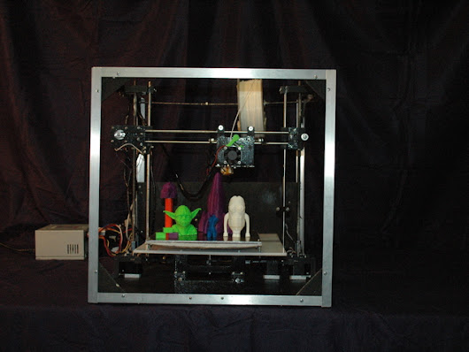 Asterid: Easy to Use Open Source 3D Printer