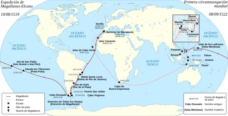 Archivo:Magellan Elcano Circumnavigation-es.svg