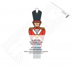 Toy Soldier 4 ft tall Yard Art Woodworking Pattern - fee plans from WoodworkersWorkshop® Online Store - toy soliders,Christmas,yard art,painting wood crafts,scrollsawing patterns,drawings,plywood,plywoodworking plans,woodworkers projects,workshop blueprints