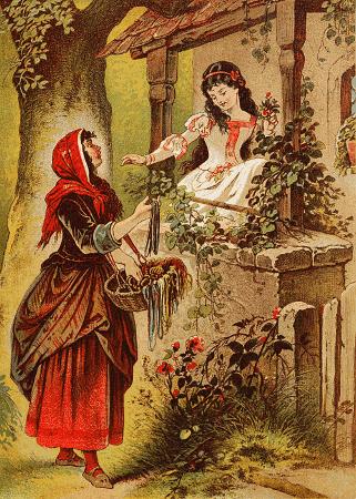 Biancaneve e la merciaia