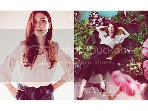 Julianne Moore's New Ads for Talbots