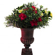 DIY Artificial Flower Urn Arrangements: 1 Urn 3 Looks