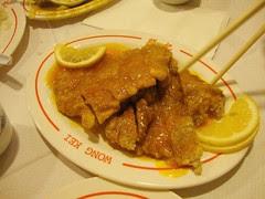 lemon chicken wong kei london