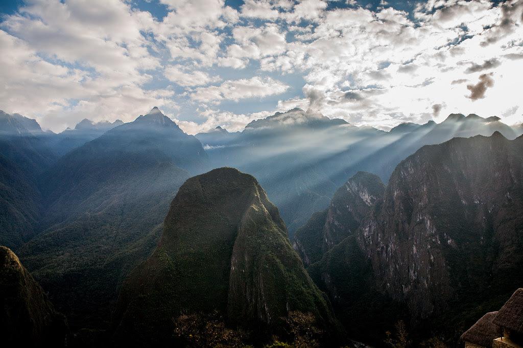 Valleys surrounding Machu Picchu, Peru