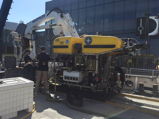 PHOTOS: Robots To Go 12,000 Feet Under the Ocean to Study Underwater Mountain