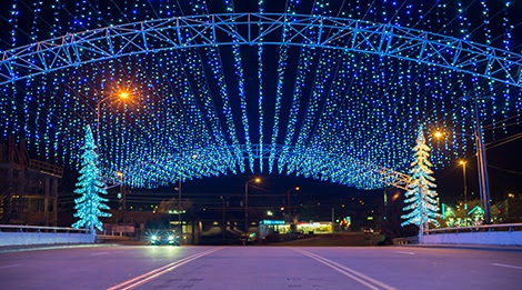 Winterfest Lights Driving Tour - Pigeon Forge Holiday Lights