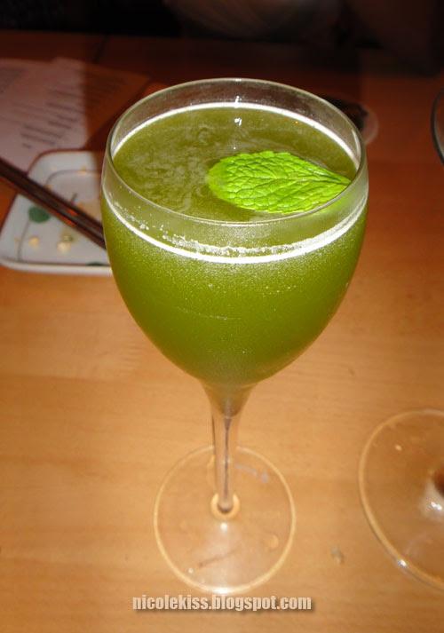 disgusting green drink