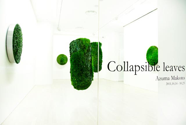 Collapsible Leaves: Plant Sculptures by Azuma Makoto sculpture plants organic leaves