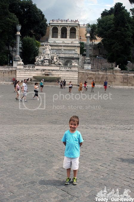 Teddy in Rome