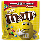 M&M's Peanut Chocolate Candy Pantry - 62 oz bag