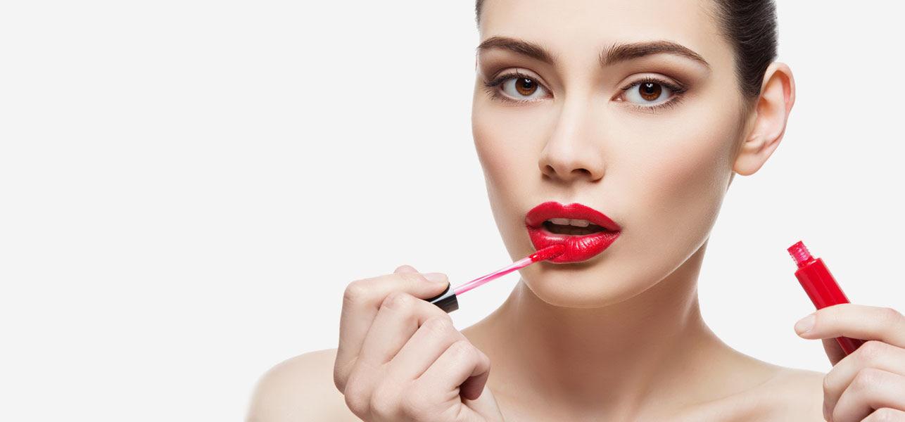 Lipstick makeup institute
