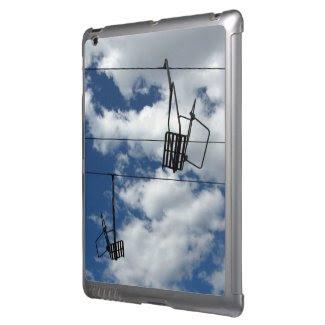 Ski Lift and Sky iPad Cover