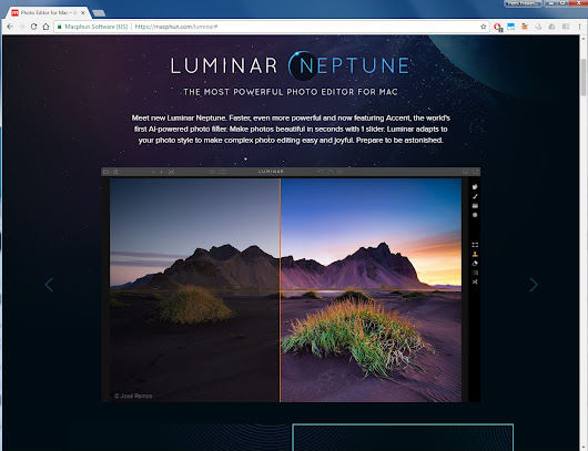 New Collaboration with Macphun and Windows Beta of Luminar available! | José Ramos Photography