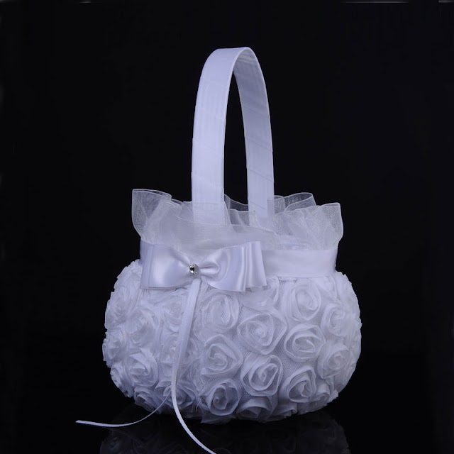 Cheap Wedding Decoration Supplies Hand embroidered Flower Basket Lace Girl Creative RECOMMENDED H2 Buy SPECIAL PRICE LIMITED