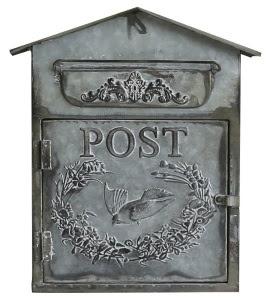 Den gamla goda tidens postlåda