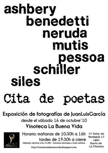 CITA DE POETAS - EXPOSICIÓN DE FOTOGRAFÍA