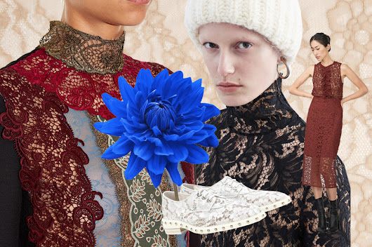Lace: clothes and accessories for Fall Winter 2015-2016 | The Blonde Salad