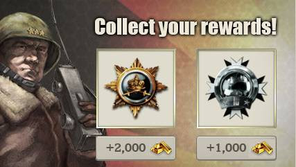 Call of War Achievement Reward System, CoW is a Free-to-Play Strategy