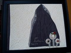 Just Believe Mini art quilt