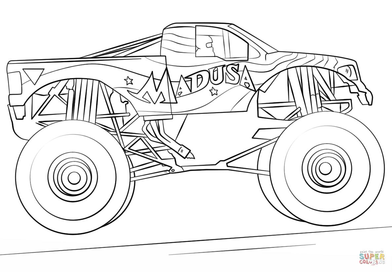 Klick das Bild Madusa Monster Truck