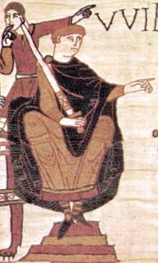 William sebagai Adipati Normandia pada Permadani dinding Bayeux