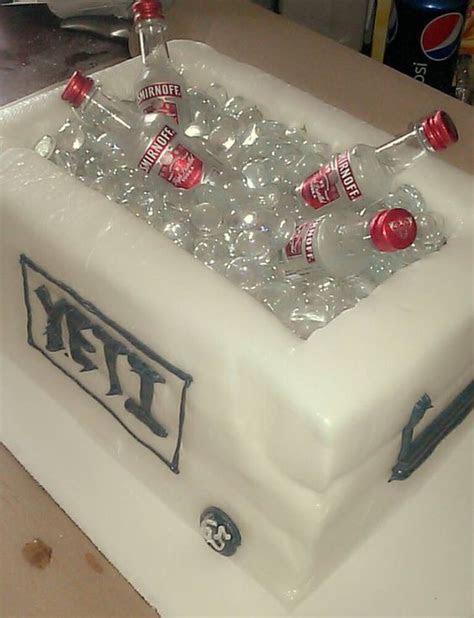 Yeti cooler cake   Cake: Wedding Cakes (and cupcakes) I
