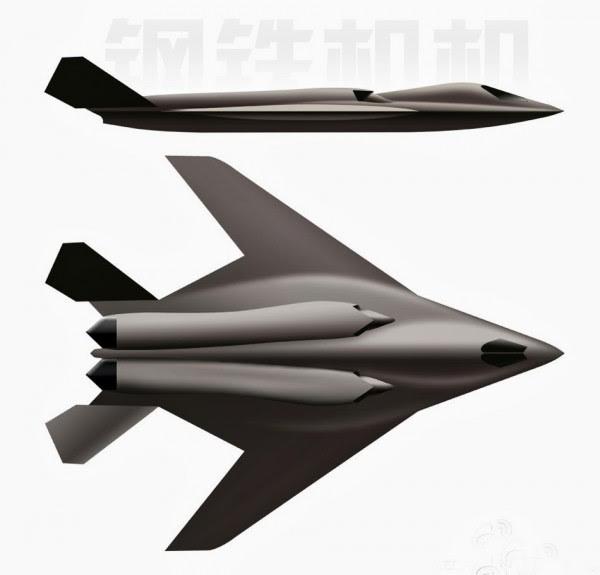 H-18 de mediano alcance supersónico bombardero furtivo 5