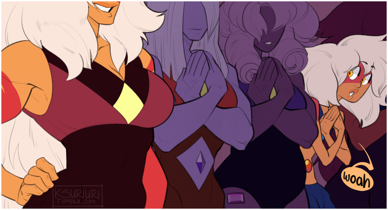 So you're the Jasper everyone's been talking about?