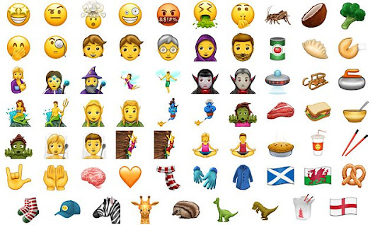 From Mermaid to man fairy: 69 new emoji coming  this year revealed