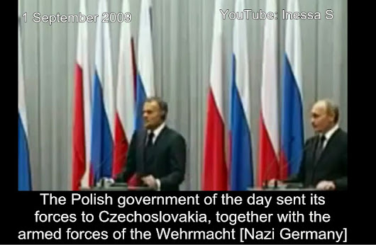 Putin turns the tables on Poland - awkward [Video] - Like This Article