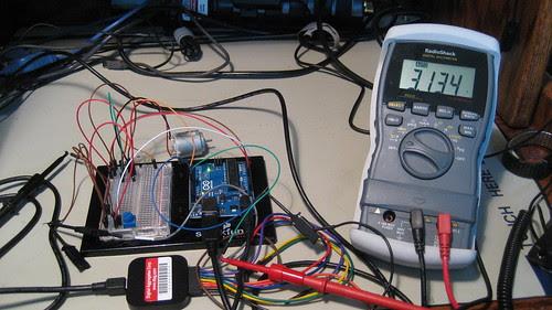Digital Voltmeter: Dialed 66% PWM Duty Cycle