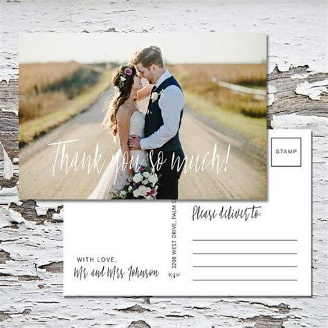 78 Best ideas about Wedding Thank You Cards on Pinterest
