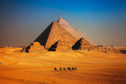 The Egyptian Pyramids Are Getting a $40 Million Makeover | Architectural Digest