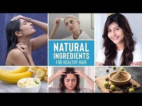 Fight Hair fall, Dandruff, Oily Scalp and Roughness with these Natural