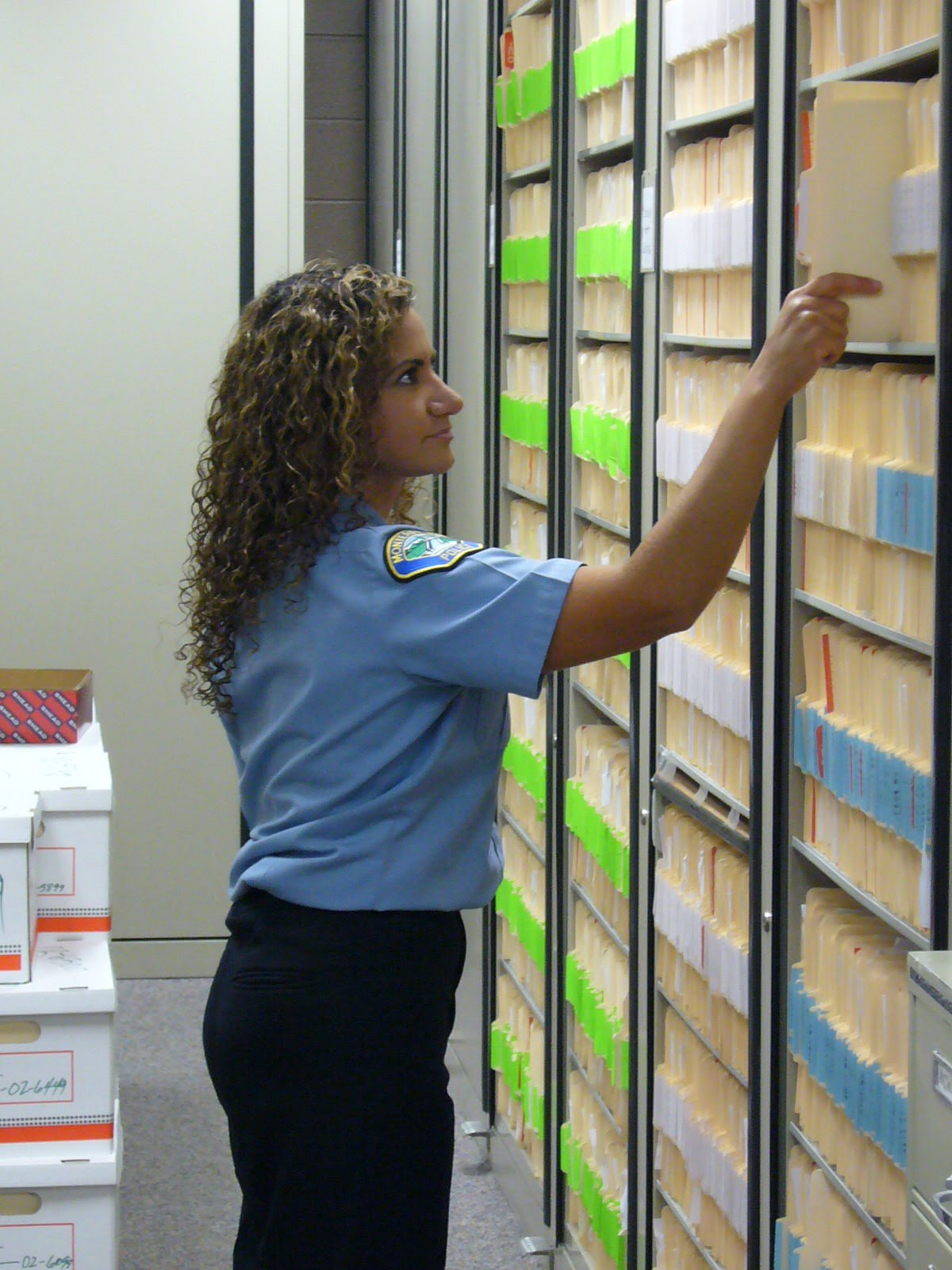 Image result for police records clerk