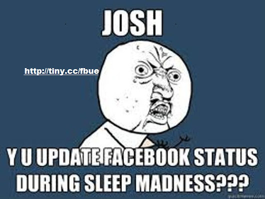 Before Sleeping Facebook Madness