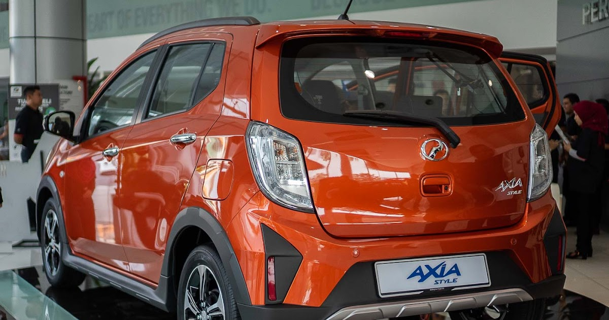 6 colours of perodua bezza 2021 car are available in malaysia which include ocean blue,. Perodua Axia Gear Up - Contoh Grim