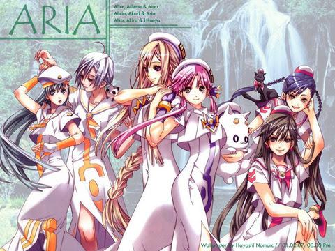 Ariaの完全版刊行が決定全7巻構成でカバーイラストは天野先生描き