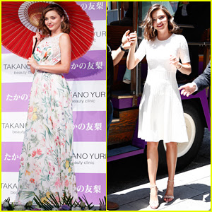 Miranda Kerr Hits the Streets of Tokyo for Yuri Takano Beauty Clinic!