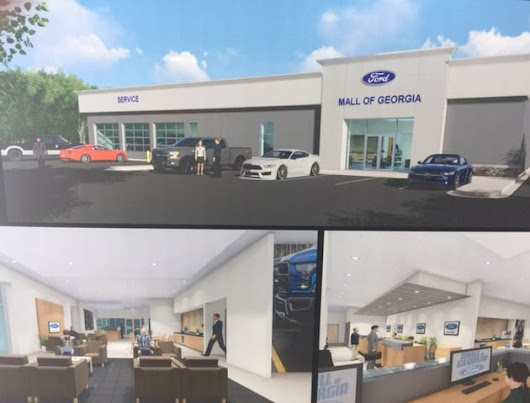 Service & Parts Center Renovation at Mall of Georgia Ford