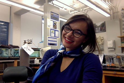 Reed College's Leilani Ganser follows her passion for biology, blogging and policy