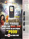 MyPhone B11 Duo Dual Sim P999 only