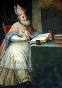 IMG ST. ALIPIUS, Bishop and Confessor