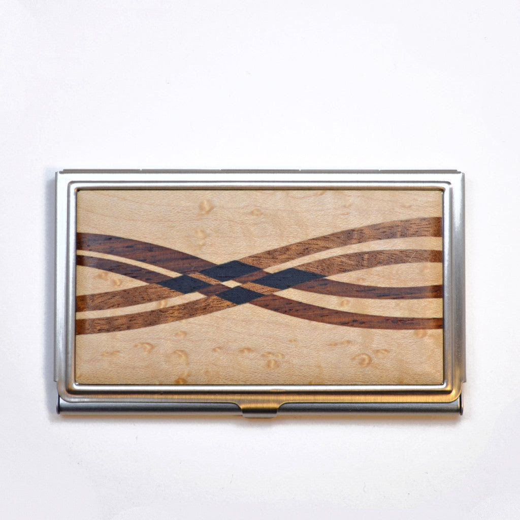 Maple Crossing Business Card Case - Dogwood Hill Gifts