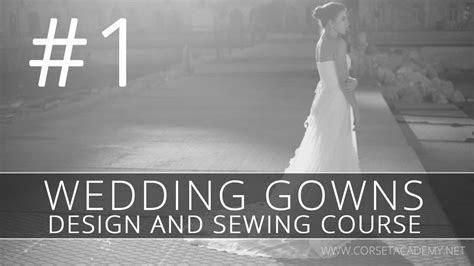 How to make a WEDDING DRESS? Sewing and design of bridal