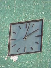 Clock, Municipality Building, Asmara, Eritrea